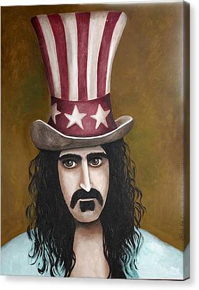Franks Hat Canvas Print by Leah Saulnier The Painting Maniac