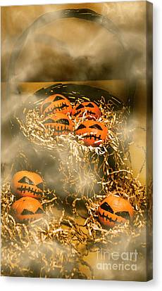 Freaky Halloween Fruits Canvas Print by Jorgo Photography - Wall Art Gallery