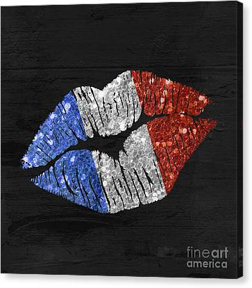 French Kiss Canvas Print by Mindy Sommers