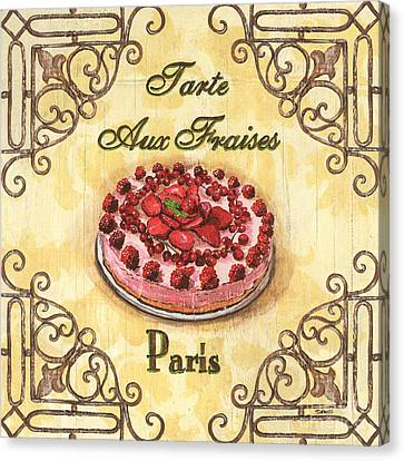 French Pastry 1 Canvas Print by Debbie DeWitt