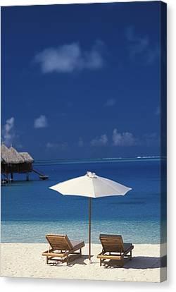 French Polynesia, Bora Bora Canvas Print by Kyle Rothenborg - Printscapes
