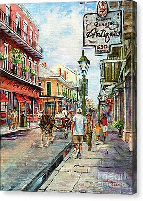 French Quarter Antiques Canvas Print by Dianne Parks