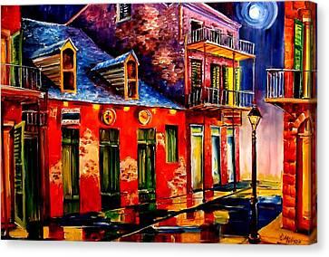 French Quarter Dazzle Canvas Print by Diane Millsap