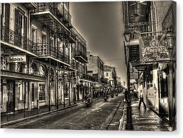 French Quarter Ride Canvas Print by Greg and Chrystal Mimbs