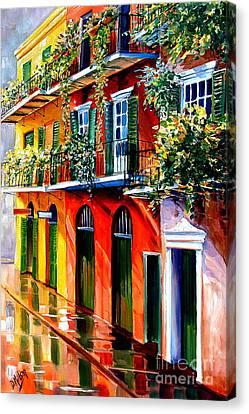 French Quarter Sunshine Canvas Print by Diane Millsap