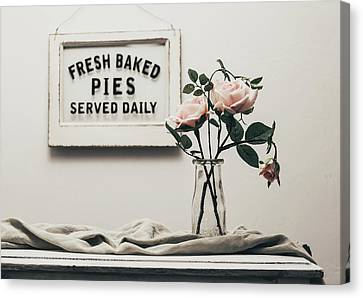 Fresh Baked Canvas Print by Kim Hojnacki