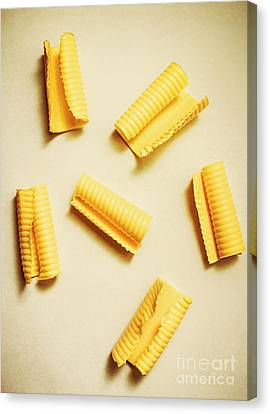 Fresh Butter Curls On Table Canvas Print by Jorgo Photography - Wall Art Gallery