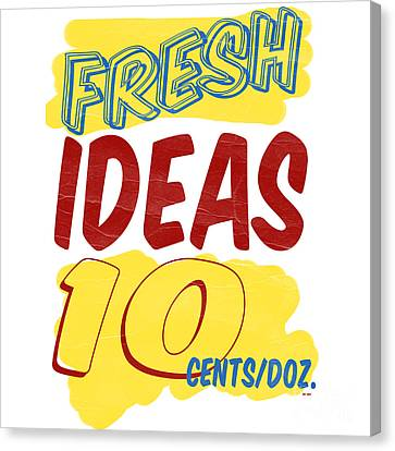 Fresh Ideas Canvas Print by Edward Fielding