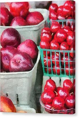 Fresh Market Fruit Canvas Print by Jeff Kolker