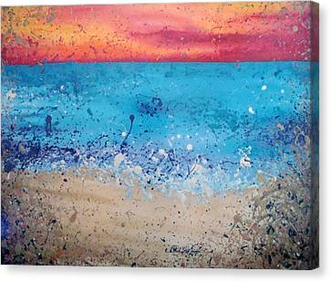 Fresh Water Canvas Print by Paula Weber