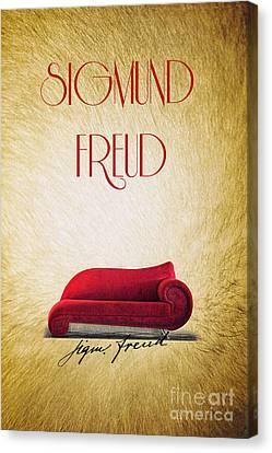 Freud Canvas Print by Binka Kirova