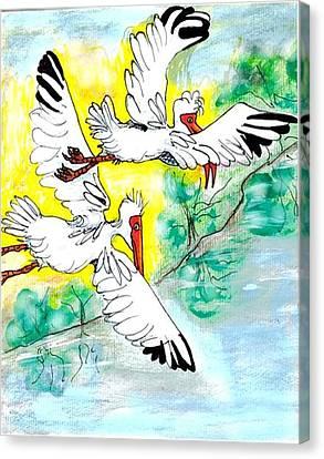 Friendship Canvas Print by Carol Allen Anfinsen