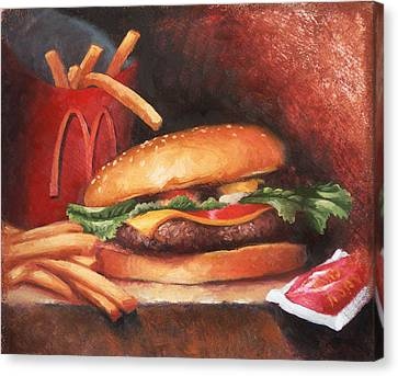 Fries With That Canvas Print by Timothy Jones