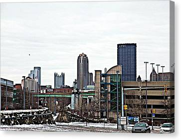 From A Distance Canvas Print by Melinda Dominico