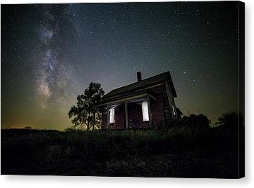 From Within Canvas Print by Aaron J Groen