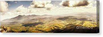 From Zeehan To Trial Harbour Canvas Print by Jorgo Photography - Wall Art Gallery