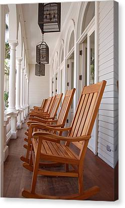 Front Porch Canvas Print by Kelly Wade