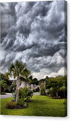 Frontal Clouds Canvas Print by Dustin K Ryan