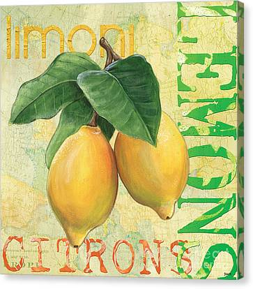 Froyo Lemon Canvas Print by Debbie DeWitt