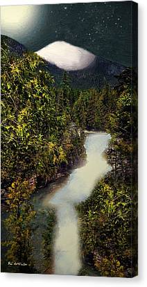 Frozen Majesty Canvas Print by RC deWinter