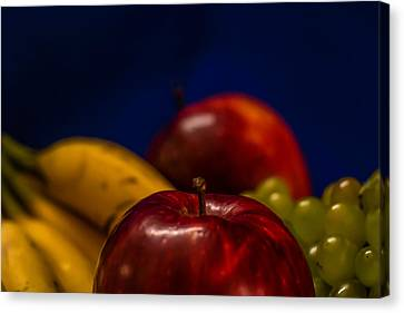 Fruit Bowl Canvas Print by Ramabhadran Thirupattur
