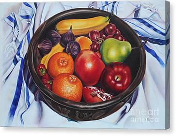 Fruit Of The Spirit Canvas Print by Ilse Kleyn