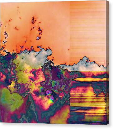 Fruit Salad Canvas Print by Wendy J St Christopher