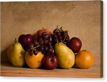 Fruit Still Life Canvas Print by Andrew Soundarajan