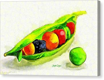 Fruits - Pa Canvas Print by Leonardo Digenio