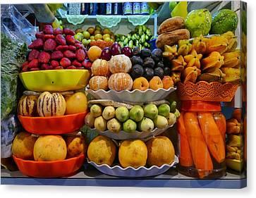 Frutas  Canvas Print by Skip Hunt