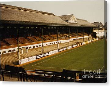 Fulham - Craven Cottage - East Stand Stevenage Road 2 - Leitch - August 1986 Canvas Print by Legendary Football Grounds