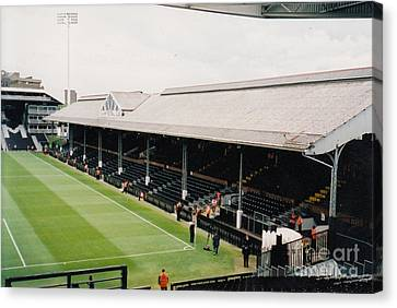 Fulham - Craven Cottage - East Stand Stevenage Road 4 - Leitch - July 2004 Canvas Print by Legendary Football Grounds