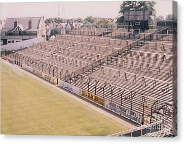 Fulham - Craven Cottage - South Stand 1 - August 1986 Canvas Print by Legendary Football Grounds