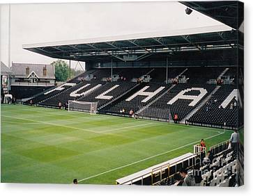 Fulham - Craven Cottage - South Stand 2 - July 2004 Canvas Print by Legendary Football Grounds