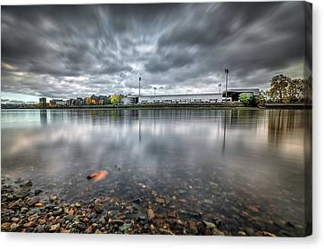 Fulham Football Club Canvas Print by Colin Evans