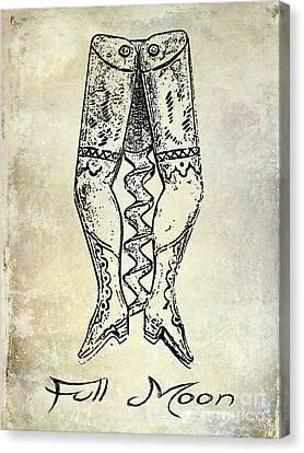 Full Moon Corkscrew Canvas Print by Jon Neidert