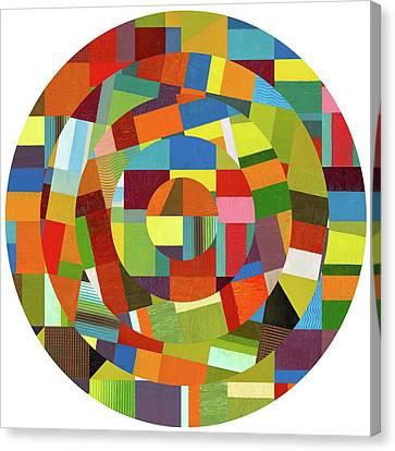 Full Tilt Canvas Print by Michelle Calkins