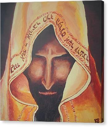Fundraise Series 3 Praying Jew Canvas Print by Kerstin Berthold