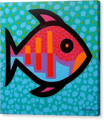 Funky Fish IIi  Canvas Print by John  Nolan