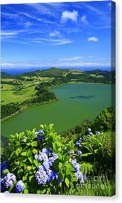 Furnas Lake Canvas Print by Gaspar Avila