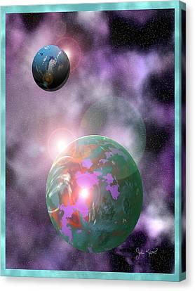 Galaxy 1 Canvas Print by John Keaton