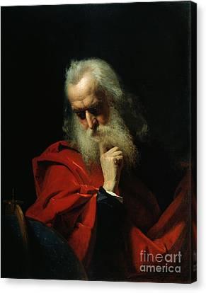 Galileo Galilei Canvas Print by Ivan Petrovich Keler Viliandi