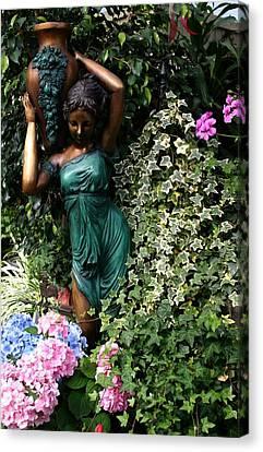 Garden Goddess Canvas Print by Kristin Elmquist