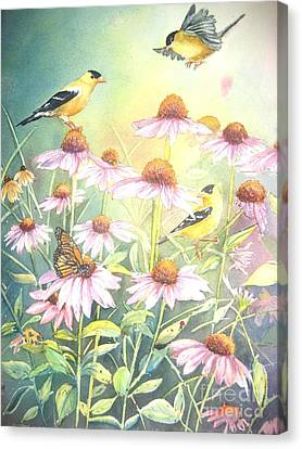 Garden Party Canvas Print by Patricia Pushaw