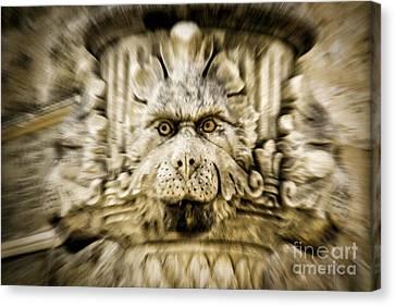 Gargoyle Type Face Canvas Print by Timothy Hacker