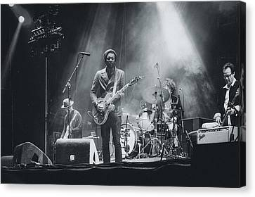 Gary Clark, Jr. Playing Live Canvas Print by Marco Oliveira