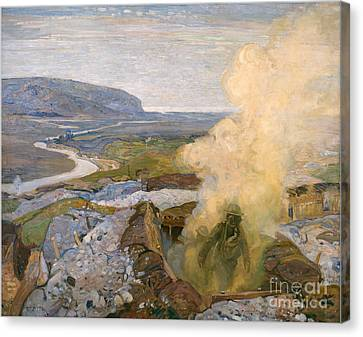 Gas Chamber At Seaford A Piece Of War Art Canvas Print by MotionAge Designs