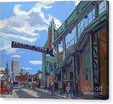 Gate C Canvas Print by Deb Putnam