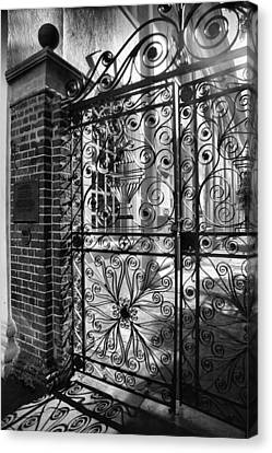Gate To St. Michaels Canvas Print by Steven Ainsworth