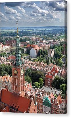 Gdansk Canvas Print by Jaroslaw Grudzinski